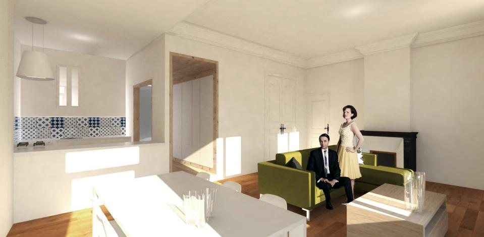 VENDU- 6ème - T6/7  avec terrasse - 260 000 €
