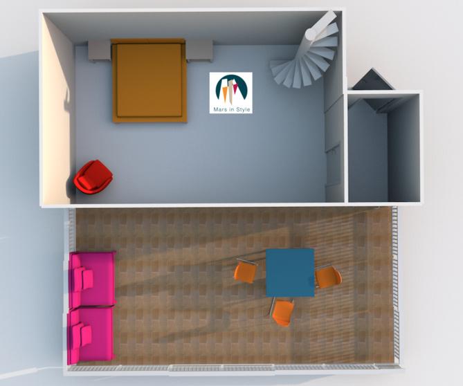 Vendu  - 1er - Longchamp - Duplex T3/4 avec terrasse et garage - 230 000 €