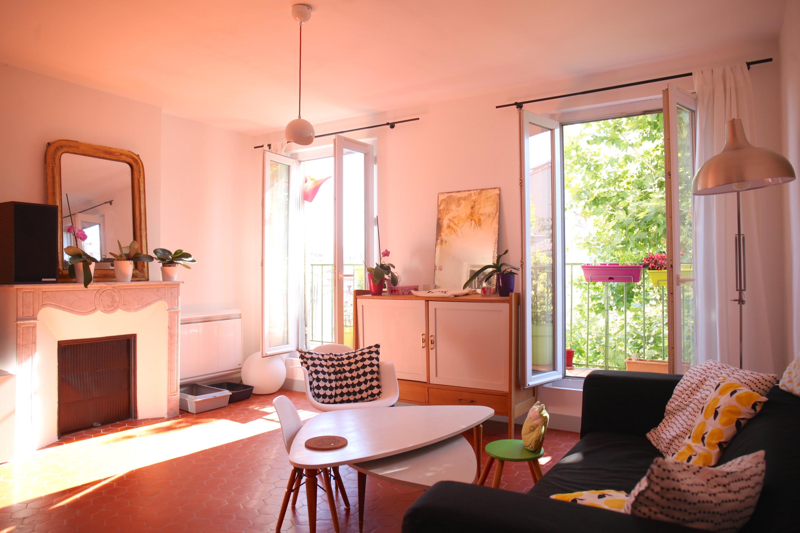 VENDU - Bd E.Pierre - T4 en dernier étage avec balcon & vue - 245 000 €