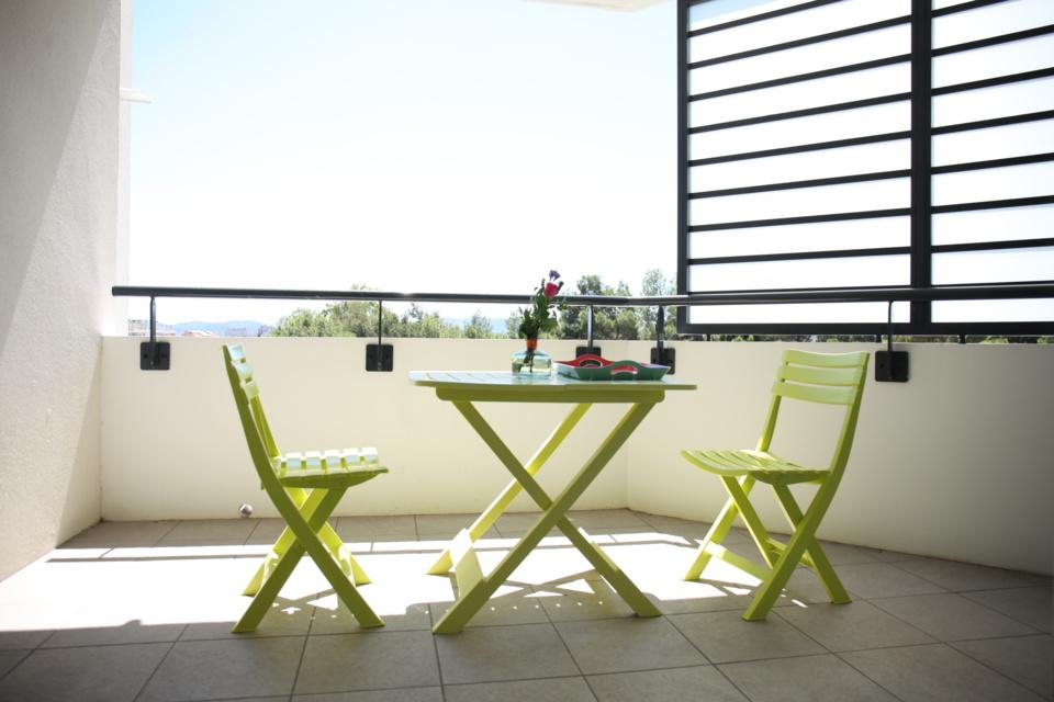 4e- Les 5 avenues - T3 - Terrasse - 223 000 €