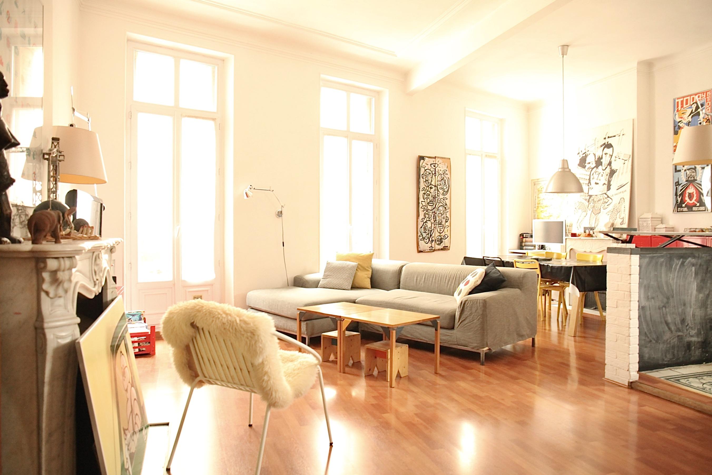 Sous compromis  - 3e- St Charles / Lazarre - Duplex T4/ 5 avec balcon- 220 000 €