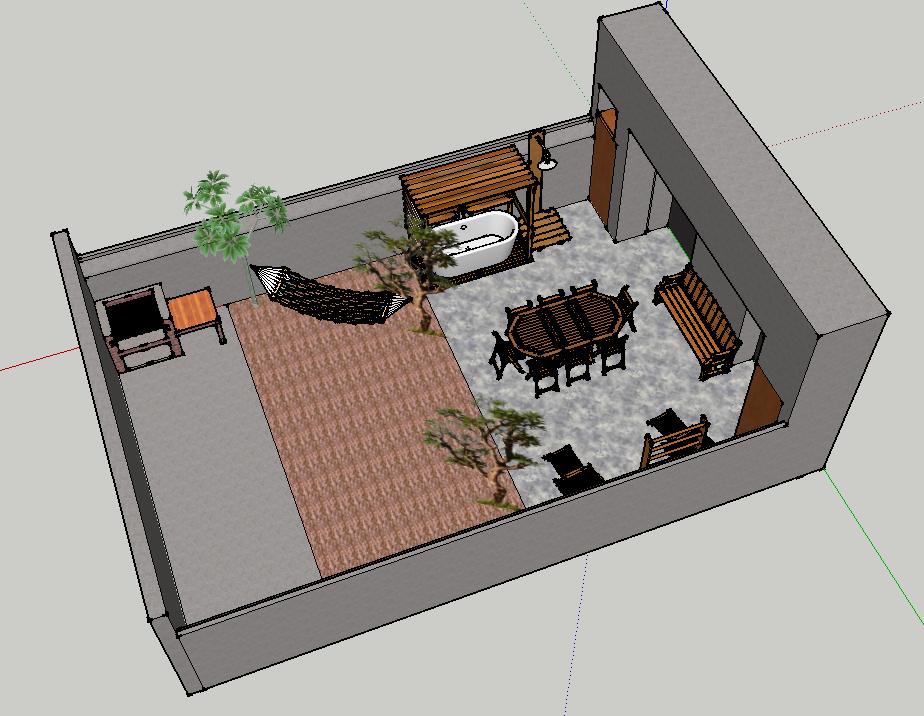 Vendu - Appartement stylé loft avec terrasse- 229 000 €