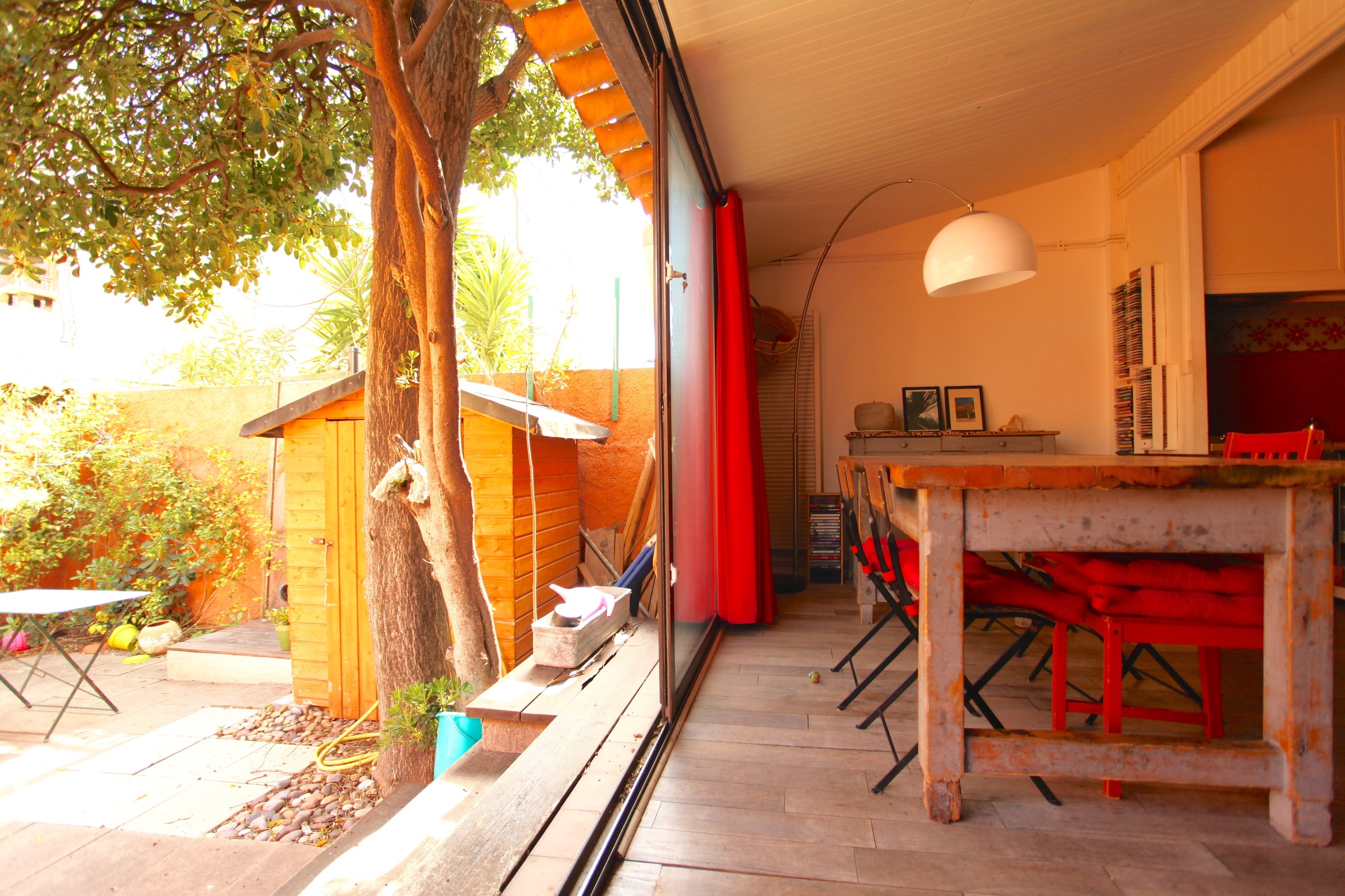 VENDU  - 7e- Malmousque-Maison avec  terrasse /jardin- 649 000€