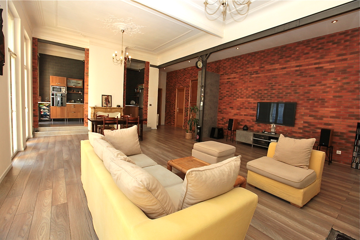 Appartement stylé loft 13001   Galerie   Mars in style \